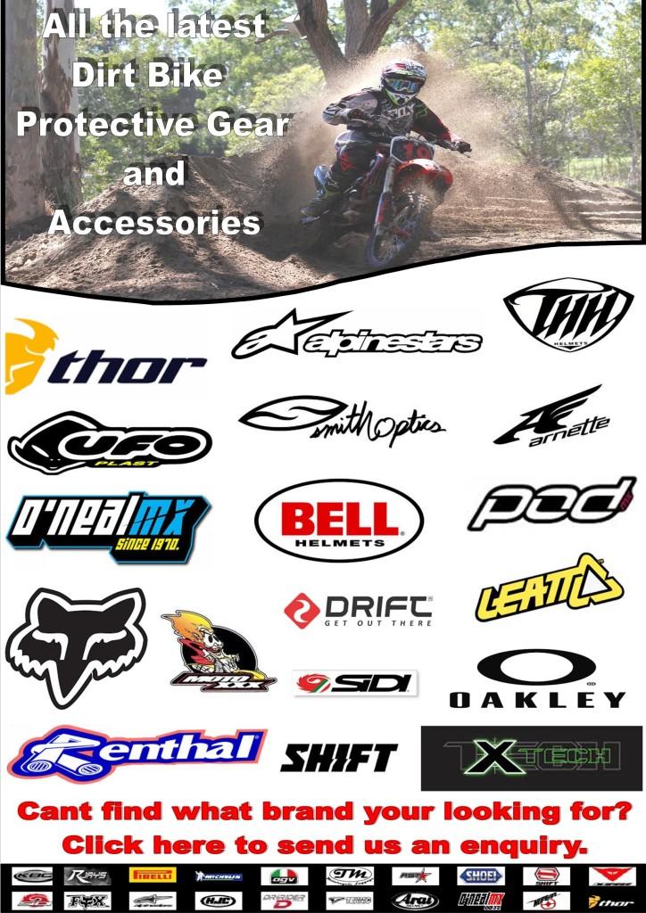 Dirt Bike Accessories Product List