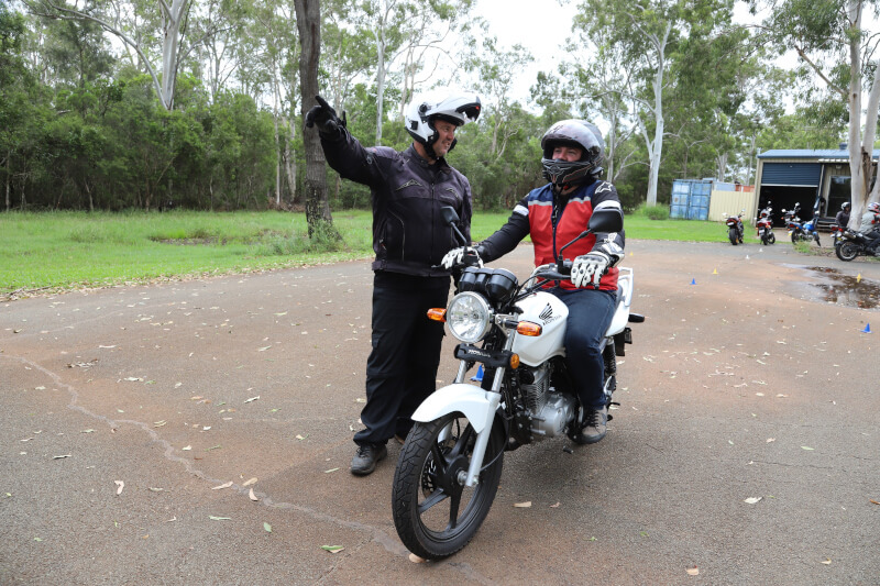 Learn To Ride Student And Instructor