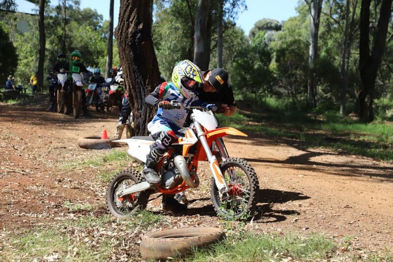 Dirt Bike Coaching Young Rider