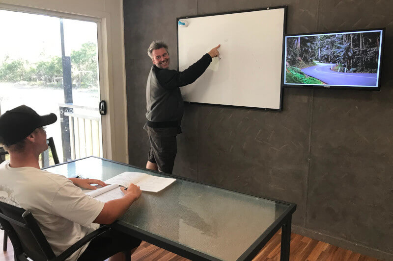 Mountain & Cornering Course Classroom