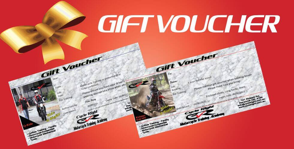 Cycle Right Gift Vouchers